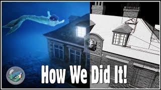 The Mermaid Sunken House - How we did it!