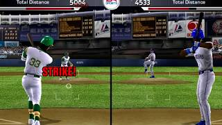 Jose Canseco vs Ken Griffey Jr Home run Derby (MVP Baseball 2005 - 1994 Mod)