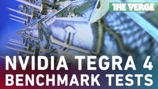 Nvidia Tegra 4 benchmark tests