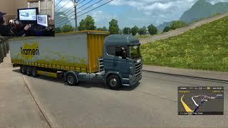 Euro truck simulador 2 | The world of truck | una ruta extrema camion nuevo | parte 2