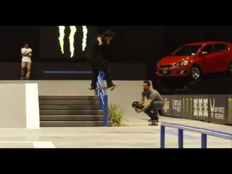 Street League 2012: Paul Rodriguez Slow Clip