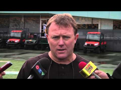 Post Practice: Head Coach Chris Jones