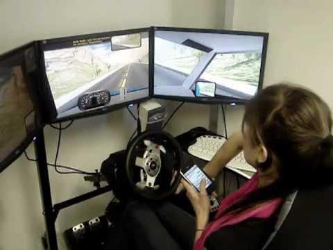SimuRide PE Drunk Driving Simulator (DUI)