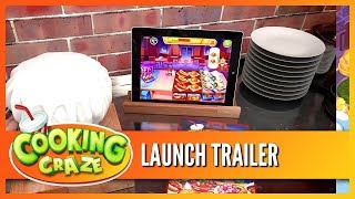 Cooking Craze - FREE Mobile Cooking Game! Now on iOS & Android!!