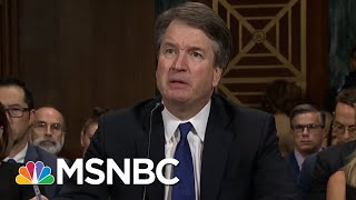Brett Kavanaugh Takes Partisan Vendetta To High Court With Lifetime Job | Rachel Maddow | MSNBC