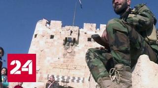 В Алеппо прошел первый после освобождения футбольный турнир