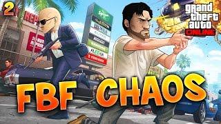 Fanta et Bob dans GTA V - Ep. 2 : FBF CHAOS !