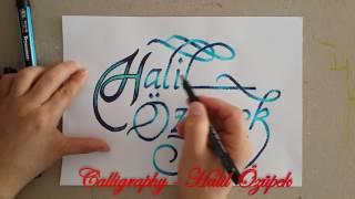 Calligraphy - İstek İsimler 7