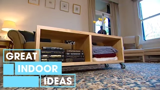 Make Your Own DIY Coffee Table | Indoor | Great Home Ideas