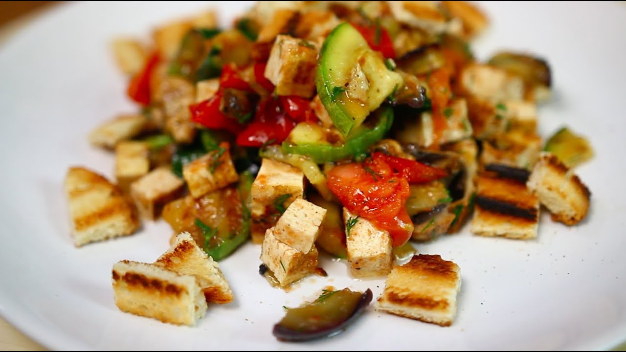 Салаты с тофу рецепты постные