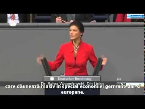 Angela Merkel pusă la zid de către o deputată: Sunteți unul dintre vasalii Americii