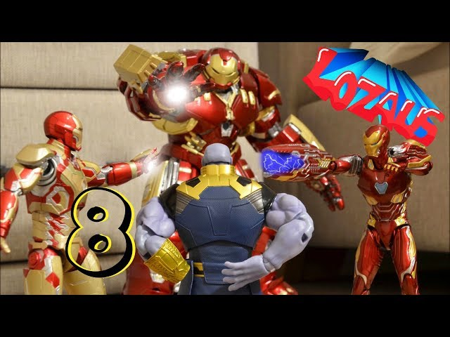 IRONMAN Stop Motion Action Video Part 8 thumbnail