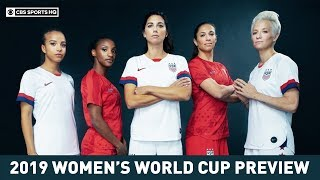 USWNT looks to repeat as world cup champs | Women's World Cup | CBS Sports HQ