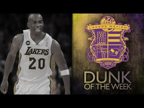 Lakers Dunk Of Week: Jodie Meeks Baseline Drive & Throw Down On The Rockets