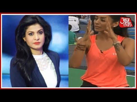 Anjana Om Kashyap With Yoga Guru Vandana Agarwal At Rajpath | AajTak Special Coverage