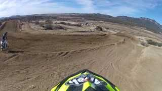 Kim Ramsell at Cahuilla creek 2013