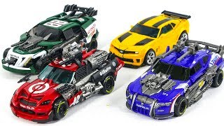 Transformers Movie 3 DOTM Bumblebee Wrekers Roadbuster Topspin Leadfoot Vehicle Car Robot Toys