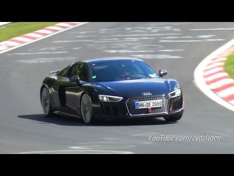 2015 Audi R8 V10 PLUS - Full Throttle Exhaust Sounds!