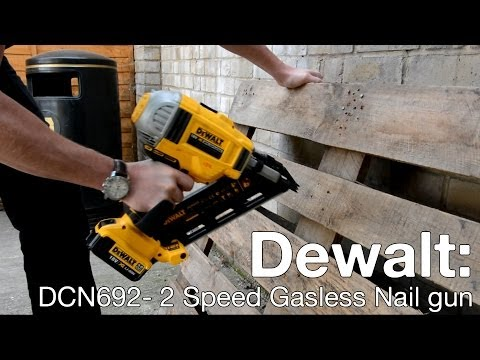 Dewalt DCN692 XR 18v Li-ion Nailer - ITS TV