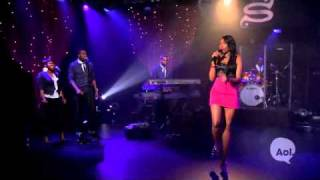 Jennifer Hudson Video - Jennifer Hudson - Angel LIVE @ AOL Sessions