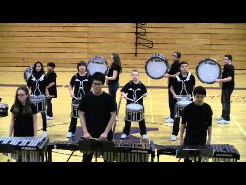 Harbour Pointe Middle School Drum Line 2014