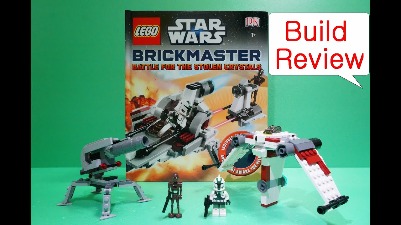 how to build a lego att star wars