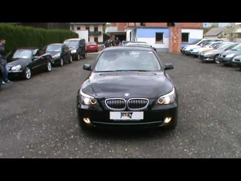 2007 BMW 520d with xsenon.navigation....Review.Start Up. Engine. and In Depth Tour
