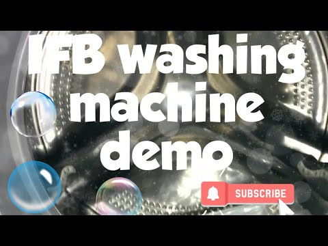Review of IFB Automatic Washing Machine   Demo in English Full HD