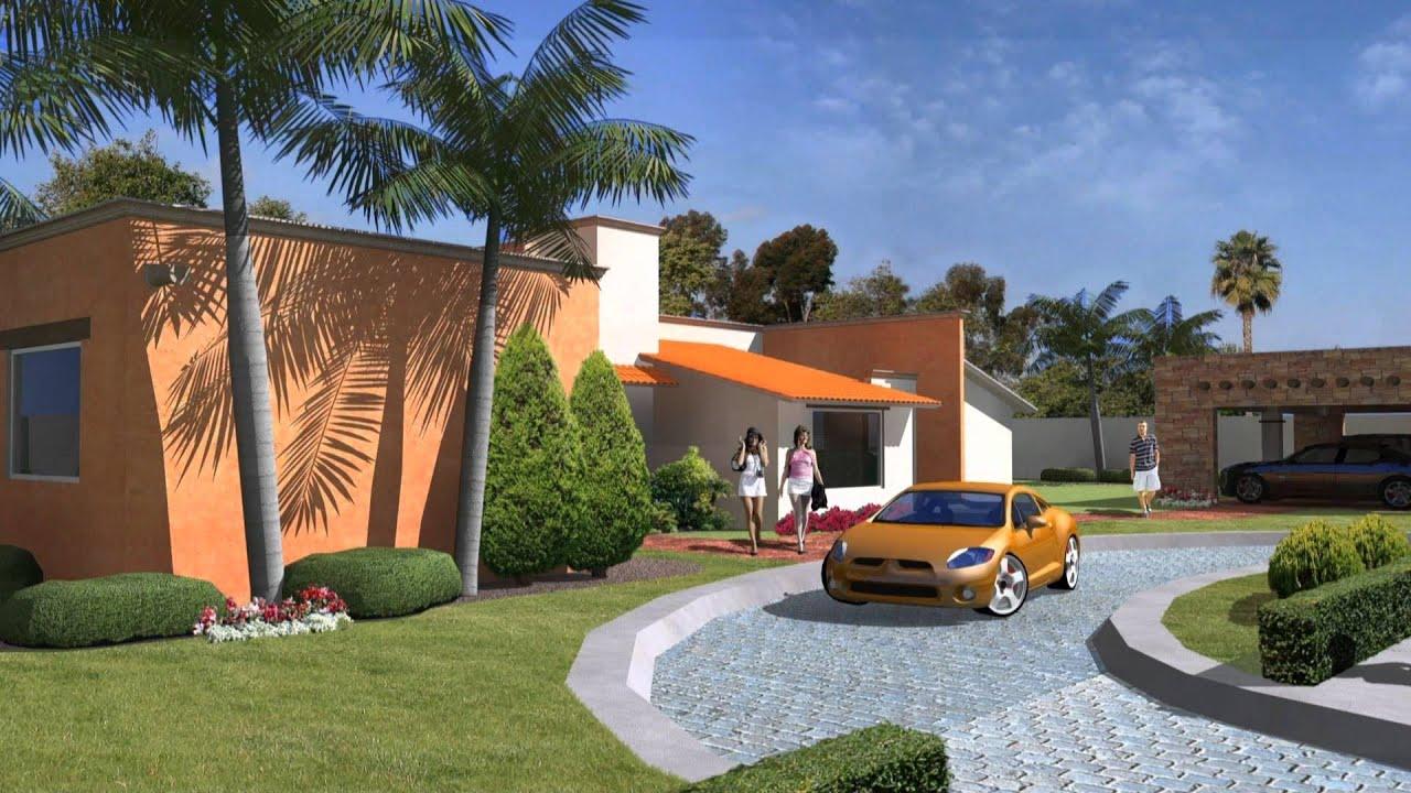 Casa de campo en cuernavaca youtube for Casa y jardin mexico