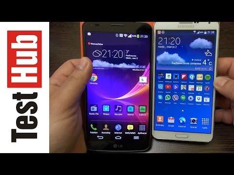 LG G Flex po 2 tygodniach + porównanie z Samsung Galxy Note 3 - Test - Recenzja - Prezentacja PL