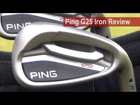 Ping G25 Iron Review by Golfalot