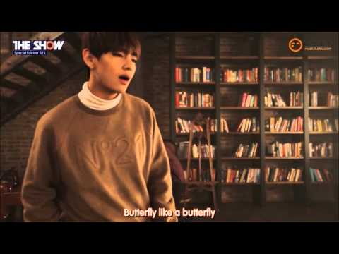 151208 160104 The Show BTS(방탄소년단) Butterfly (one cut ver.)