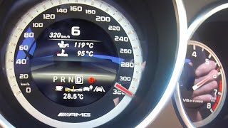 Mercedes CLS 63 AMG 740 HP ACCELERATION & TOP SPEED 0-320 km/h RENNTECH Test Drive by AutoTopNL