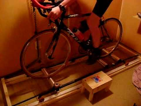 DIY InsideRide Free Motion Cycling Rollers #2