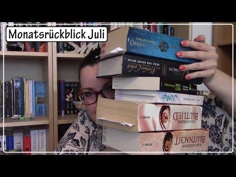 Monatsrückblick Juli Teil 3 || insgesamt 15 gelesene Bücher ;)