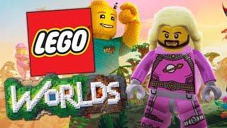 LEGO Worlds - Dog Explores The Universe