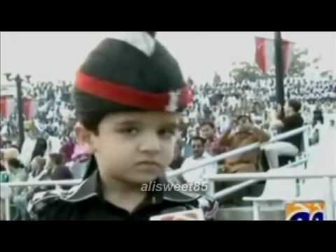 Wagha Border Child Prade video
