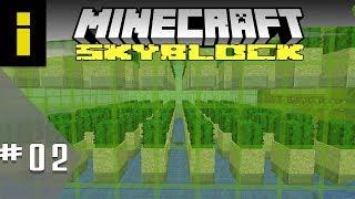 Gettin' Rich Off Cactus! - SkyBlock Season 1 - EP02 (Minecraft)