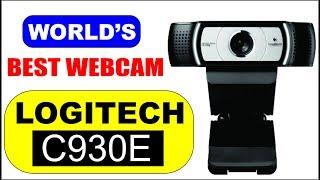 Best Webcam For YouTube Videos and Video Calls / Logitech C930e / Urdu-Hindi