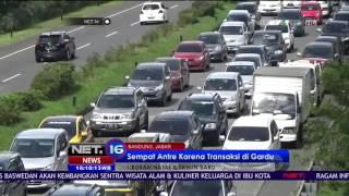 Live Report Kondisi Lalu Lintas di Area Pasteur Bandung - NET 16