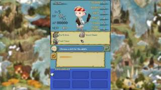 Final Fantasy: 4 Heroes of Light Crown System Demonstration
