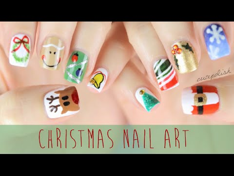 Nail Art For Christmas: The Ultimate Guide #2! video