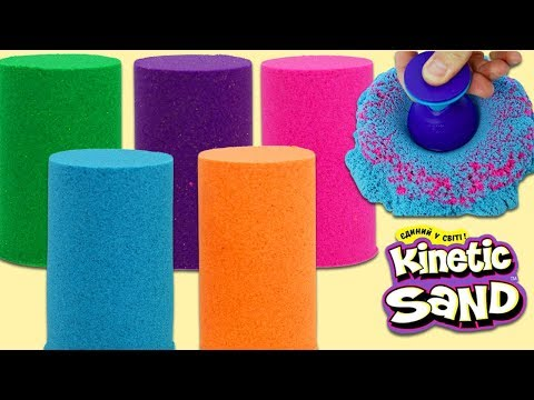 Kinetic Sand Surprise Toys Tower with Disney Pixar Toy Story 4, Paw Patrol, Doc McStuffins & More!