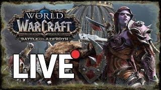 Unlocking the Nightborne Race! | World of Warcraft BFA Gameplay | WoW BFA Streaming
