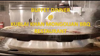 KUBLAI KHAN MONGOLIAN BBQ RESTAURANT | Dinner with Loves