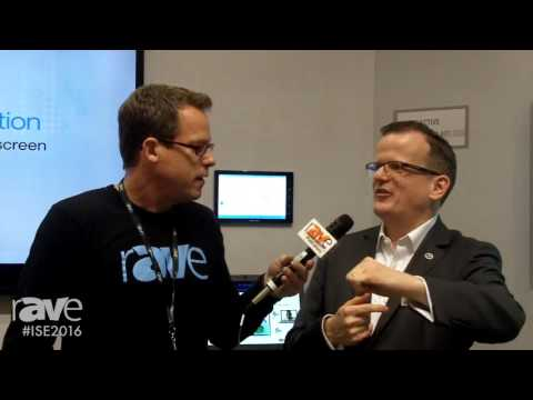 ISE 2016: Gary Kayye Chats with Toine Leerentveld, Technology Manager for Crestron