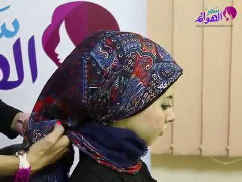 Hijab scarf workwear tutorial