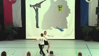 Lena Dallinger & Philip Kiermeier - Ländle Cup 2015