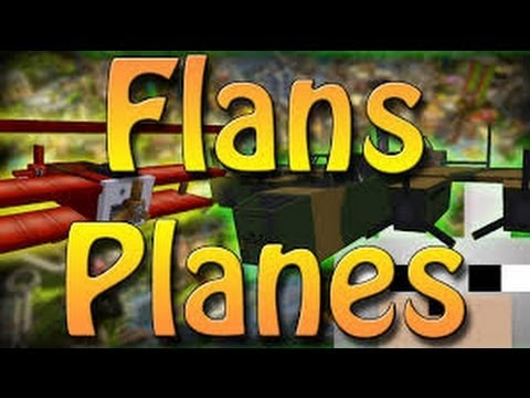 flans plane mod review with crafting 1.5.2 - 1.6.2