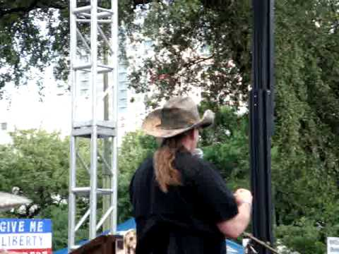 Ted Nugent's speech at Alamo Tea Party (pt 1)